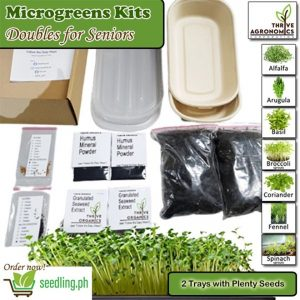 microgreens kits doubles