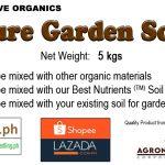 garden soil label